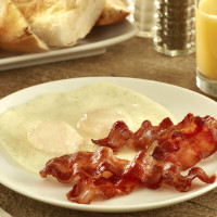 Eggs with Bacon | Meson Sandwiches