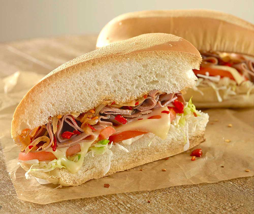 Picante Pepper Steak Sandwich