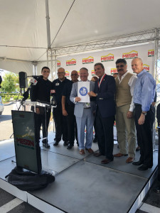 Orlando Mayor Buddy Dyer honored the Puerto Rican restaurant chain with a proclamation
